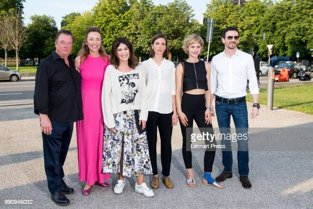 Peter Kurth Munich Film Festival director Diana Iljine Iris Berben Laura de Boer Katharina Schlothauer and Oliver Berben attend the premiere of the...