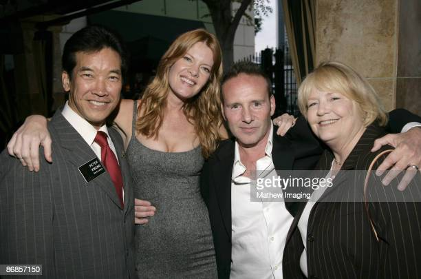 Peter Kwong Michelle Stafford Mark Teschner and Nancy Wiard *EXCLUSIVE*