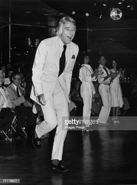 Peter Lawford at New York New York disco circa 1980 in New York City