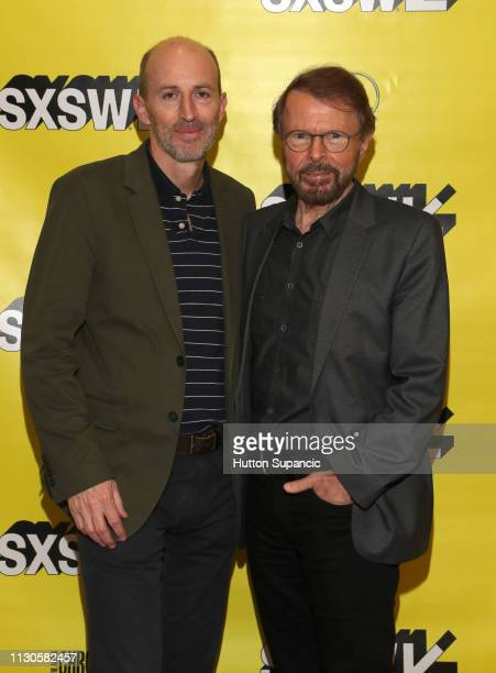 Peter Leathem and Bjorn Ulvaeus attend Featured Session Creator Credits Providing the Missing Links during the 2019 SXSW Conference and Festivals at...