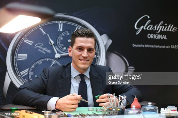 Peter Leuschner Brand Manager Deutschland Glashuette Original during the piano night hosted by Wempe and Glashuette Original at Gruenwalder Einkehr...