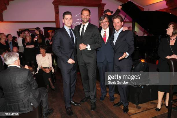 Peter Leuschner Brand Manager Deutschland Glashuette Original Marc Autmaring director Wempe Weinstrasse Munich Peter Pongratz and Philip Greffenius...
