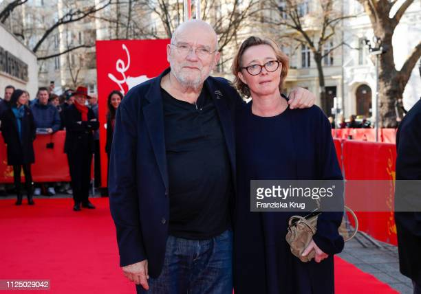 Peter Lindbergh and his wife Petra Lindbergh during the Peter Lindbergh Women Stories premiere during the 69th Berlinale International Film Festival...