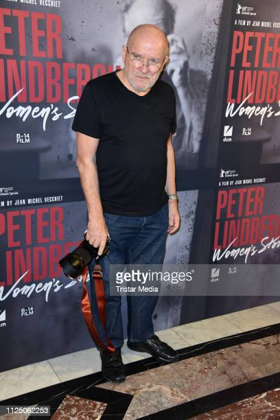 Peter Lindbergh attends the 'Peter Lindbergh Women Stories' world premiere after show party during the 69th Berlinale International Film Festival at...
