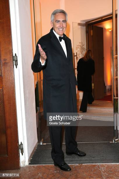 Peter Loescher during the 80th birthday party of Roland Berger at Cuvillies Theatre on November 25 2017 in Munich Germany