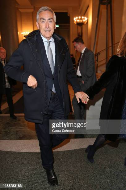 Peter Loescher former Siemens CEO at the opera premiere of Die tote Stadt by Erich Wolfgang Korngold at Bayerische Staatsoper on November 18 2019 in...