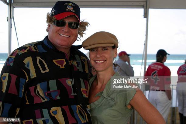 Peter Loftin and Ellen Marchman attend The Club at Casa Casuarina presents The Miami Beach Arena Polo World Cup 2005 at Casa Casuarina on April 15...