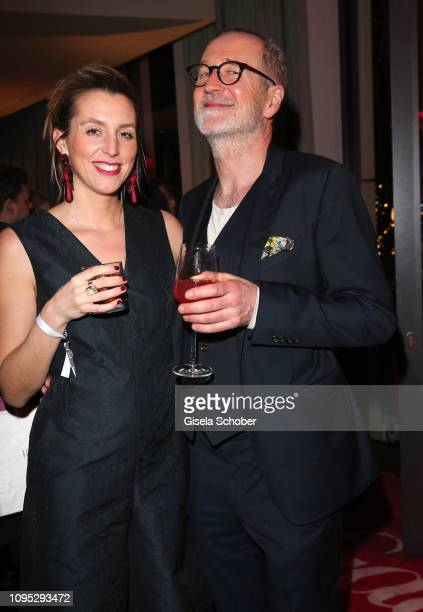 Peter Lohmeyer and Leonie Seifert attends the Berlinale Opening Night by GALA UFA Fiction at Das Stue on February 07 2019 in Berlin Germany