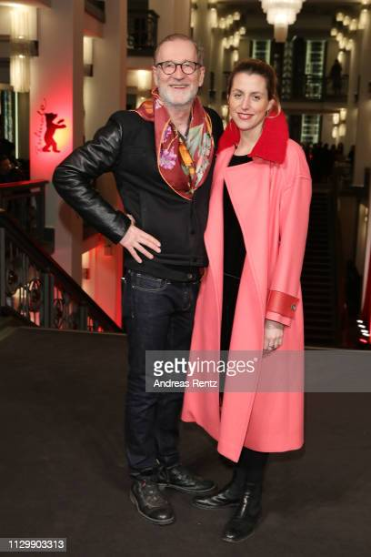 Peter Lohmeyer and Leonie Seifert pose at the You Only Live Once Die Toten Hosen On Tour premiere during the 69th Berlinale International Film...