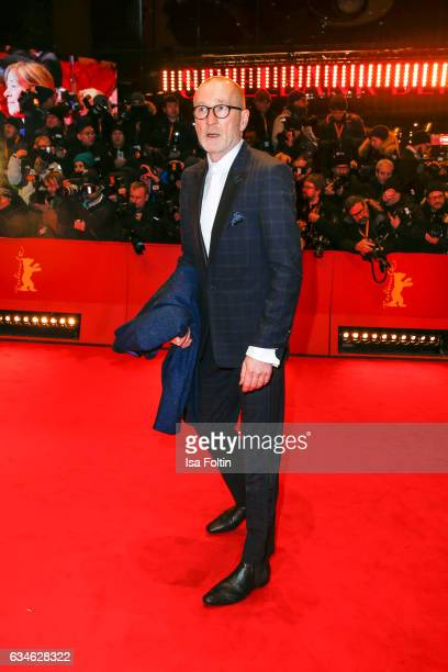 Peter Lohmeyer attends the 'Django' premiere during the 67th Berlinale International Film Festival Berlin at Berlinale Palace on February 9 2017 in...