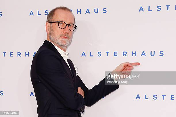 Peter Lohmeyer attends the new Luxury Hall Opening of the Alsterhaus on November 16 2016 in Hamburg Germany