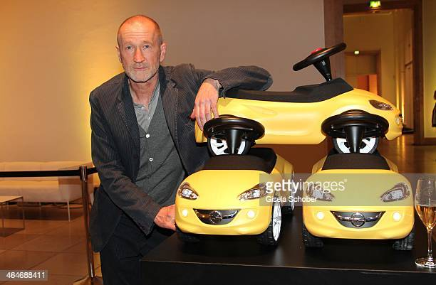 MUNICH GERMANY JANUARY Peter Lohmeyer attends the presentation and vernissage of the calender 'THE ADAM BY BRYAN ADAMS' for Opel at Haus der Kunst on...