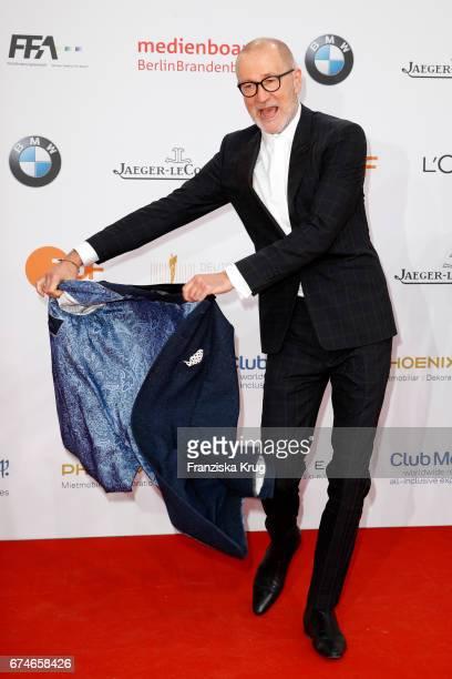 Peter Lohmeyer during the Lola - German Film Award red carpet arrivals at Messe Berlin on April 28, 2017 in Berlin, Germany.