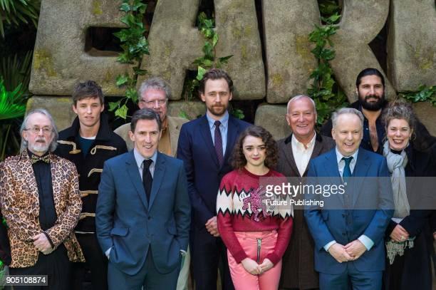 Peter Lord Eddie Redmayne Rob Brydon Mark Williams Tom Hiddleston Maisie Williams Simon Greenall Nick Park Kayvan Novak and Selina Griffiths pose for...