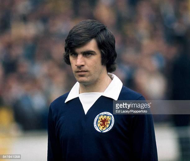 Peter Lorimer of Scotland during the England versus Scotland international football match at Wembley Stadium in London on 19th May 1973 England beat...