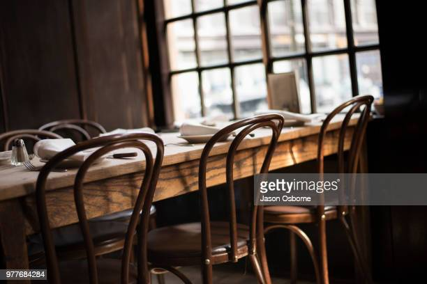 peter luger's steakhouse - steakhouse stock photos and pictures
