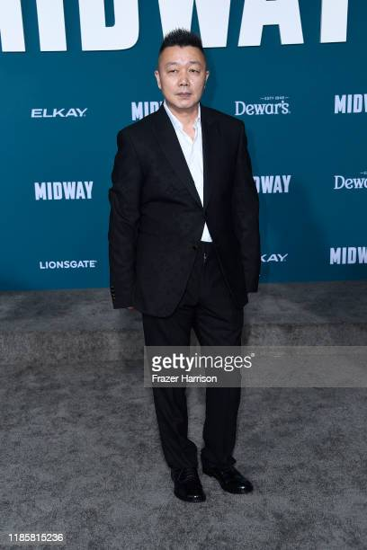 Peter Luo attends the Premiere Of Lionsgate's Midway at Regency Village Theatre on November 05 2019 in Westwood California