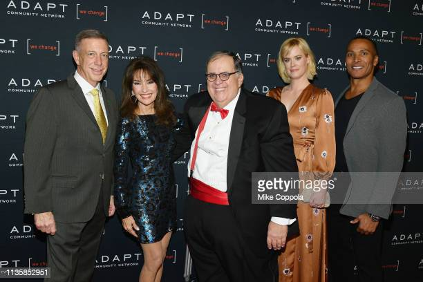 Peter M Meyer Susan Lucci Edward R Matthews Abigail Hawk and Mike Woods attend the The 2019 2nd Annual ADAPT Leadership Awards at Cipriani 42nd...