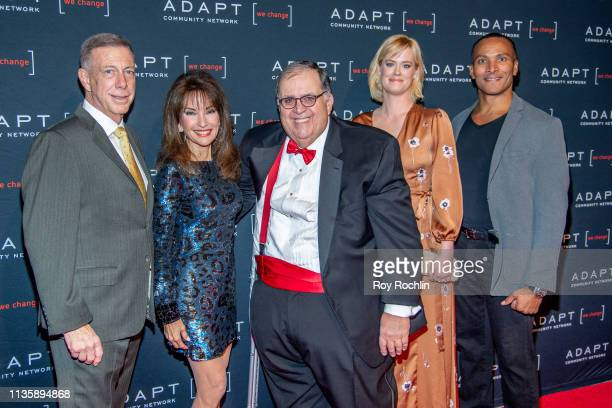 Peter M Meyer Susan Lucci Edward R Matthews Abigail Hawk and Mike Woods attend the 2019 Adapt Leadership Awards at Cipriani 42nd Street on March 14...