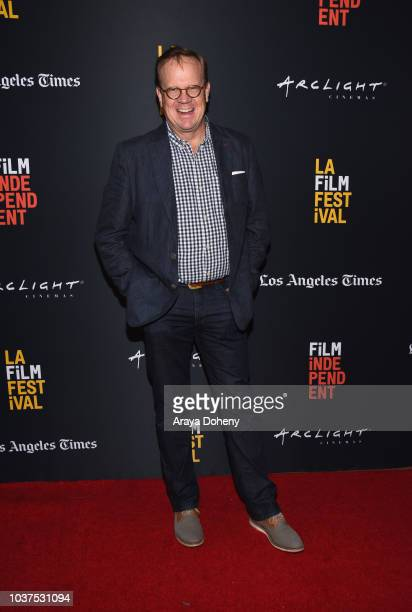 """Peter Mackenzie attends the screening of """"Simple Wedding"""" during the 2018 LA Film Festival at ArcLight Culver City on September 21, 2018 in Culver..."""