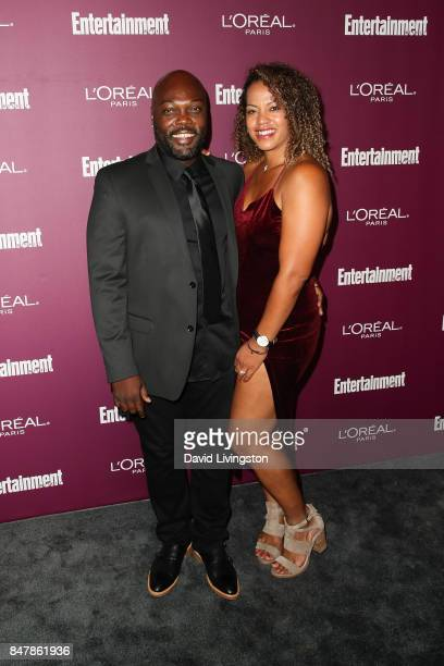 Peter Macon and guest attend the Entertainment Weekly's 2017 PreEmmy Party at the Sunset Tower Hotel on September 15 2017 in West Hollywood California