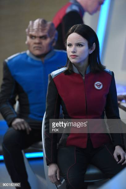 Peter Macon and Halston Sage in the 'If the Stars Should Appear' episode of THE ORVILLE airing Thursday Sept 28 on FOX