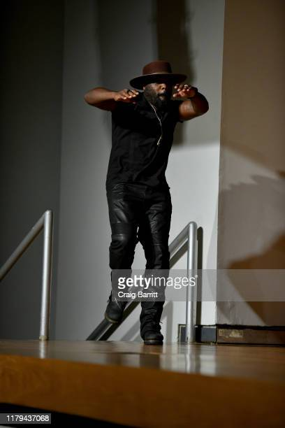 Peter Macon on stage during Hulu's The Orville at New York Comic Con 2019 Day 4 at Jacob K Javits Convention Center on October 06 2019 in New York...