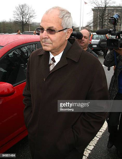 Peter Madoff chief compliance officer of Bernard L Madoff Investment Securities LLC leaves Nassau County Supreme Court after a hearing in Mineola New...