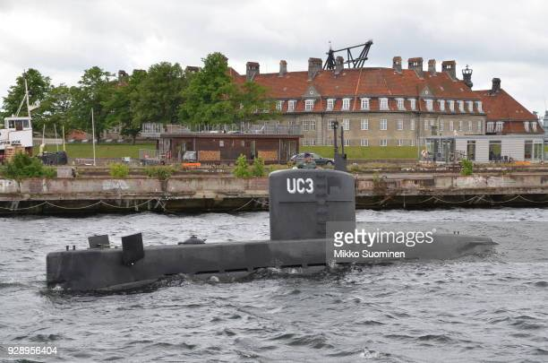 Peter Madsen and his submarine on May 31 2017 in Copenhagen Denmark Peter Madsen is a Danish inventor who built his own seaworthy submarine called...