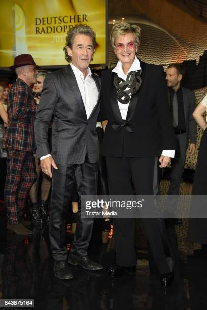 Peter Maffay and Gloria von Thurn und Taxis attend the Deutscher Radiopreis at Elbphilharmonie on September 7 2017 in Hamburg Germany