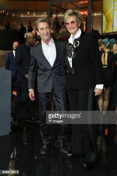 Peter Maffay and Gloria von Thurn und Taxis attend the Deutscher Radiopreis at Elbphilharmonie on September 7 2017 in Hamburg Germany 'n