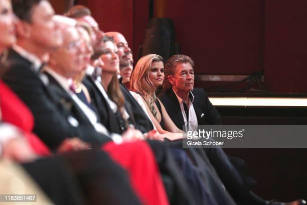 Peter Maffay and his girlfriend Hendrikje Balsmeyer during the 71st Bambi Awards show at Festspielhaus BadenBaden on November 21 2019 in BadenBaden...