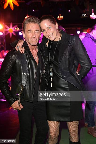 Peter Maffay and his wife Tanja Maffay during the 'Tabaluga Es lebe die Freundschaft' record release at Das Schloss on October 28 2015 in Munich...