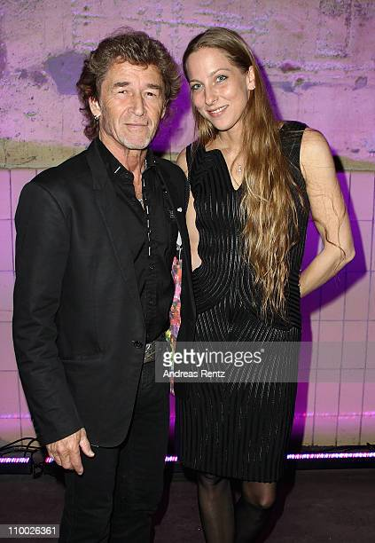 Peter Maffay and wife Tania attend the Steiger Award 2011 at the Jahrhunderhalle on March 12 2011 in Bochum Germany