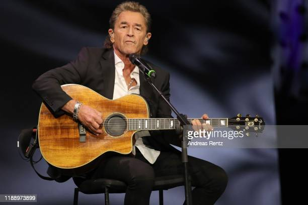 Peter Maffay performs at the Tribute To Bambi show at Kurhaus BadenBaden on November 20 2019 in BadenBaden Germany