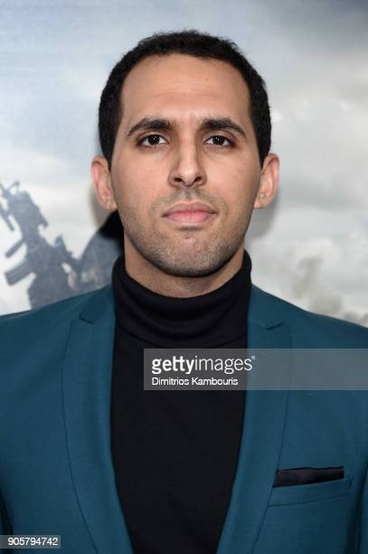 Peter Malek attends the world premiere of '12 Strong' at Jazz at Lincoln Center on January 16 2018 in New York City