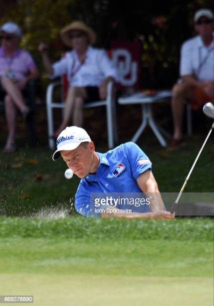 Peter Malnati during the final round of the RBC Heritage Presented by Boeing Golf Tournament on April 16 at Harbour Town Golf Links in Hilton Head...