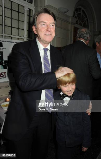 Peter Mandelson attends the VIP screening of The Ghost at The Court House Hotel on March 30 2010 in London England