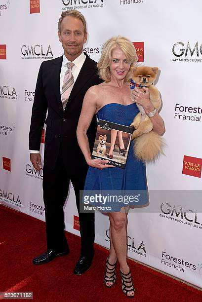 Peter Marc Jacobson Laura Martella and Gentleman Norman arrive at GMCLA's 5th Annual Voice Awards at The Ray Dolby Ballroom at Hollywood Highland...