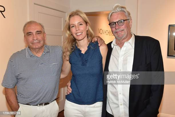 """Peter Marcelle, Catherine McCormick and Dan Rizzie attend the release of Christophe von Hohenberg's new book """"The White Album of The Hamptons"""" and..."""
