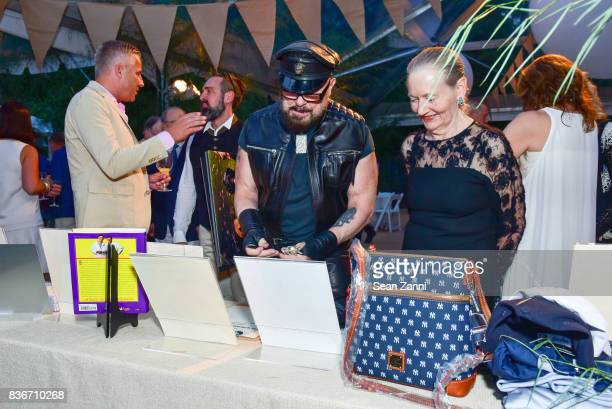 Peter Marino and Jane Trapnell attend ARF's Bow Wow Meow Ball at ARF Adoption Center on August 19, 2017 in Wainscott, NY.