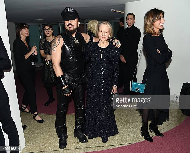 Peter Marino and Jane Trapnell attend the 2015 Guggenheim International Gala Dinner made possible by Dior at Solomon R. Guggenheim Museum on November...