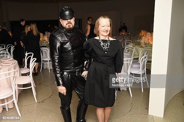 Peter Marino and Jane Trapnell attend the 2016 Guggenheim International Gala Made Possible By Dior at Solomon R. Guggenheim Museum on November 17,...