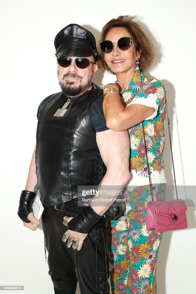 Christian Dior : Front Row - Paris Fashion Week - Haute Couture Fall Winter 2018/2019 : Fotografía de noticias