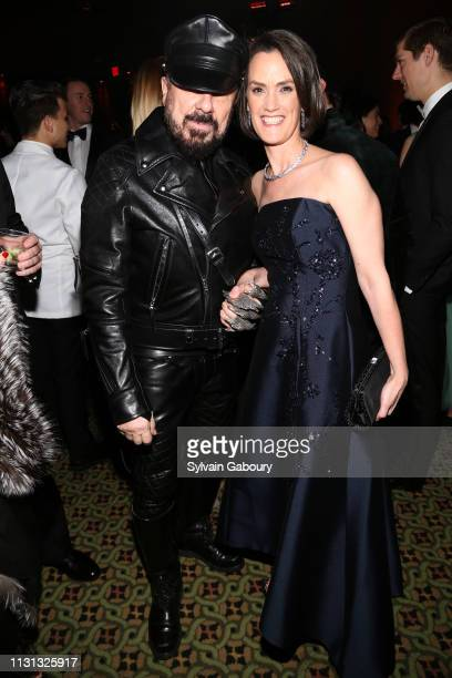 Peter Marino and Whitney Donhauser attend Museum Of the City Of New York Winter Ball at Cipriani 42nd Street on February 21 2019 in New York City
