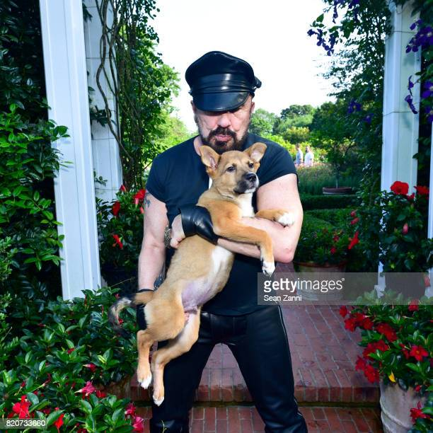 Peter Marino attends ARF in the Garden of Peter Marino at a Private Residence on July 15 2017 in Southampton NY