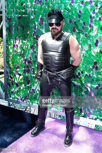 Peter Marino attends the Christian Dior show as part of Paris Fashion Week Haute Couture Fall/Winter 2015/2016 on July 6 2015 in Paris France