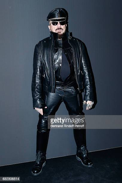 Peter Marino attends the Dior Homme Menswear Fall/Winter 20172018 show as part of Paris Fashion Week on January 21 2017 in Paris France