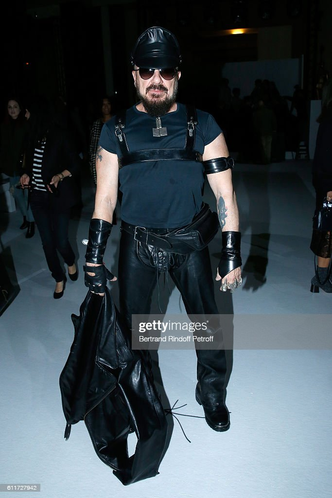 Peter Marino attends the Haider Ackermann show as part of the Paris Fashion Week Womenswear Spring/Summer 2017 on October 1, 2016 in Paris, France.