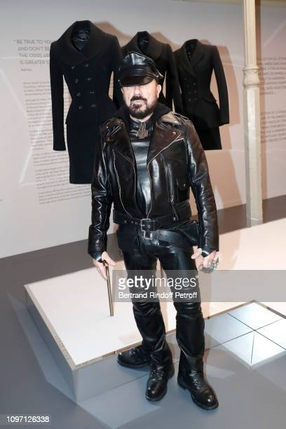 Peter Marino attends the Tribute To Azzedine Alaia as part of Paris Fashion Week on January 20 2019 in Paris France